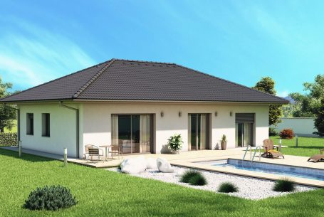 Visualization of family house type Bungalow